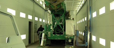 Commercial Spray Booth